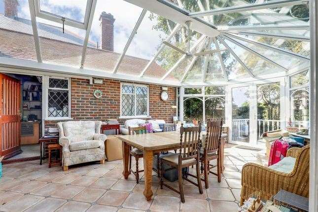 The Sittingbourne home's conservatory. Picture: Zoopla / Harrisons Residential
