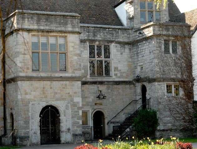 The inquest took place at Archbishop's Palace in Maidstone