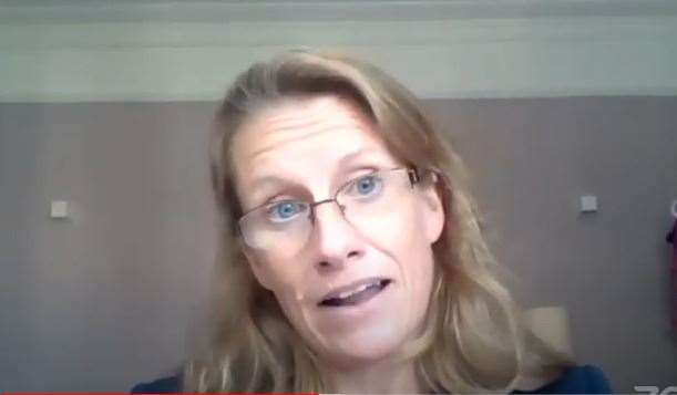 Deborah Chittenden, director of Borders, Immigration and Citizenship System at the Home Office. Picture: Youtube
