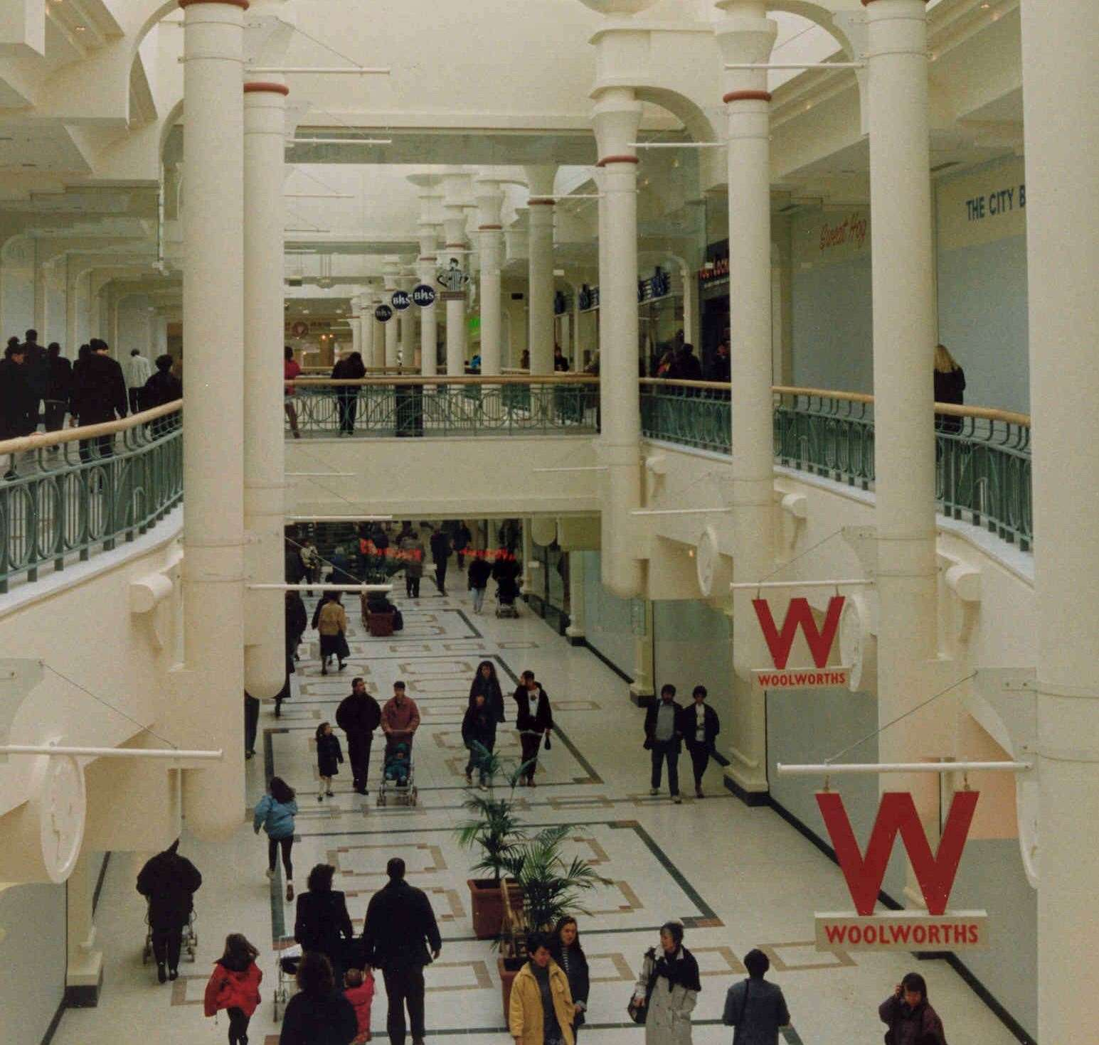 The Royal Victoria Place in 1992