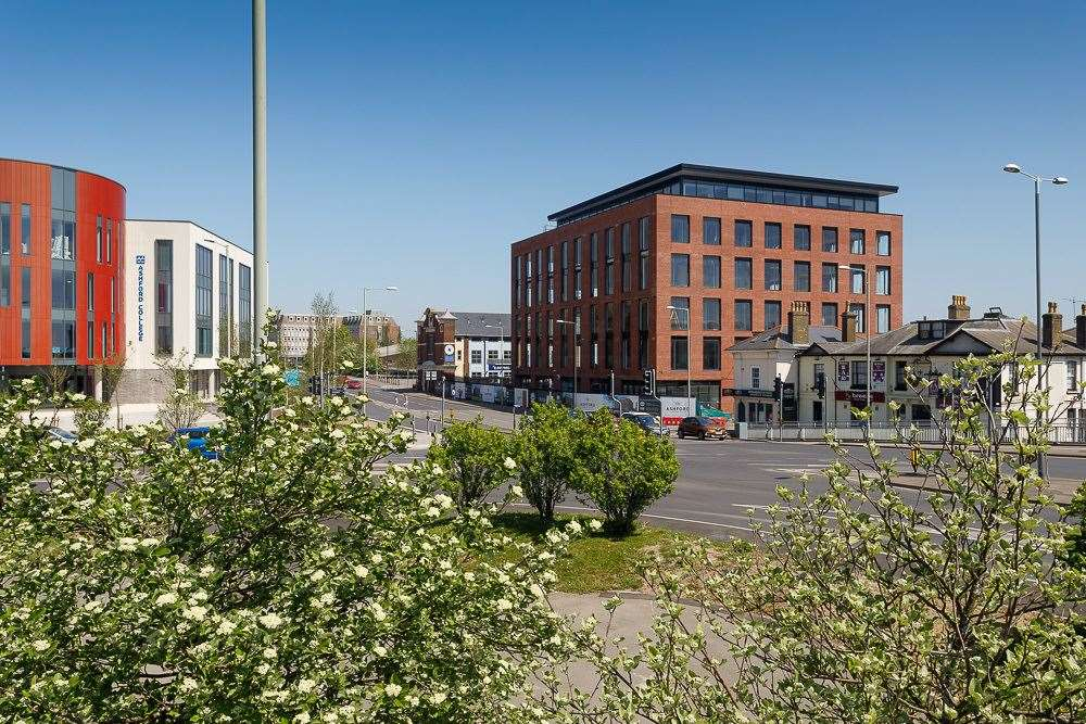 Connect 38 in Ashford was the first office building built in a Kent town centre for 20 years - an effort to reverse the decline as office space elsewhere is converted into homes