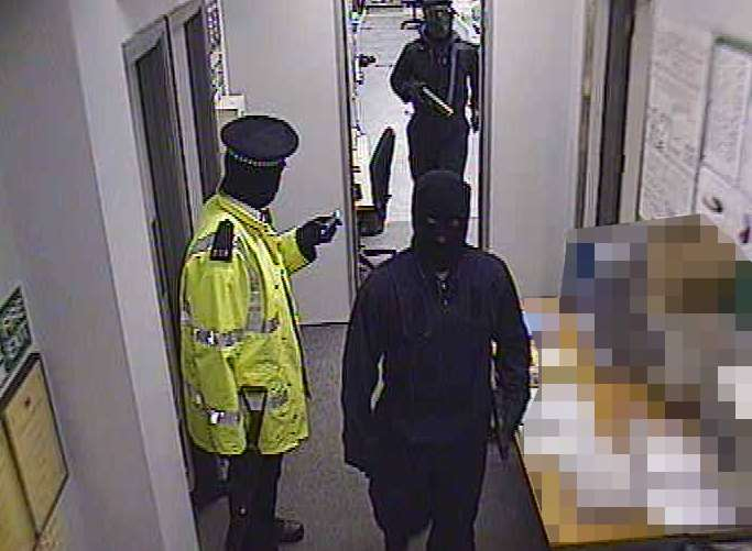CCTV images shown at the trial
