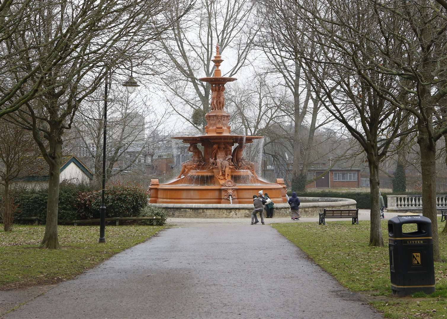 Hilden threatened one of his victims at the water fountain in Ashford's Victoria Park
