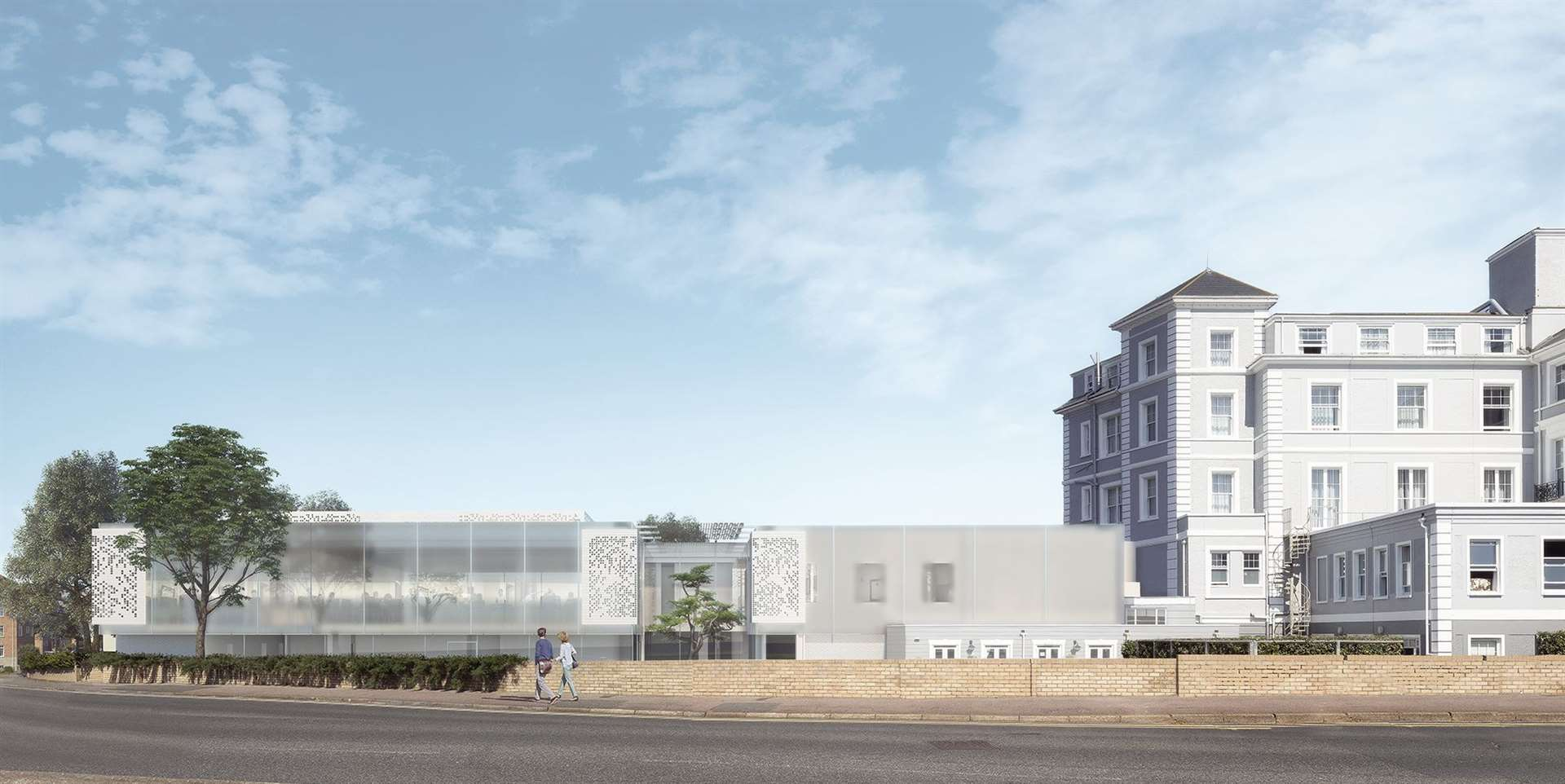 New spa and gym facilities are planned for the seafront hotel