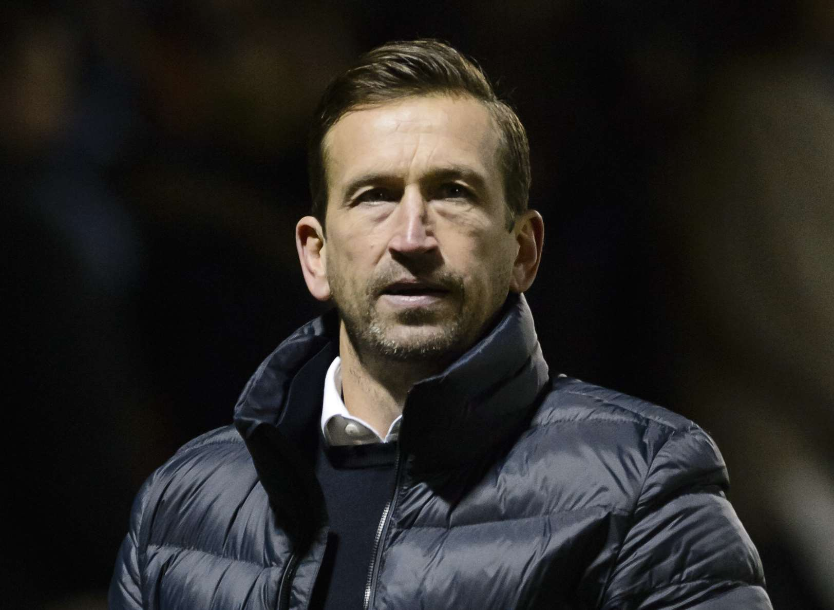 Justin Edinburgh was sacked by the Gills before taking over at Northampton Picture: Andy Payton