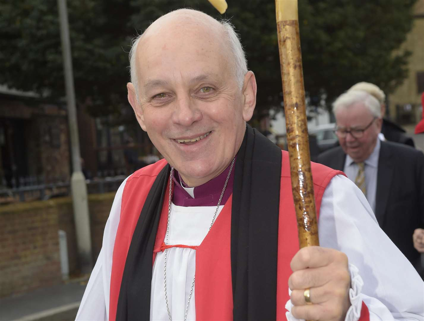The Bishop of Dover photographed last October. Picture: Tony Flashman