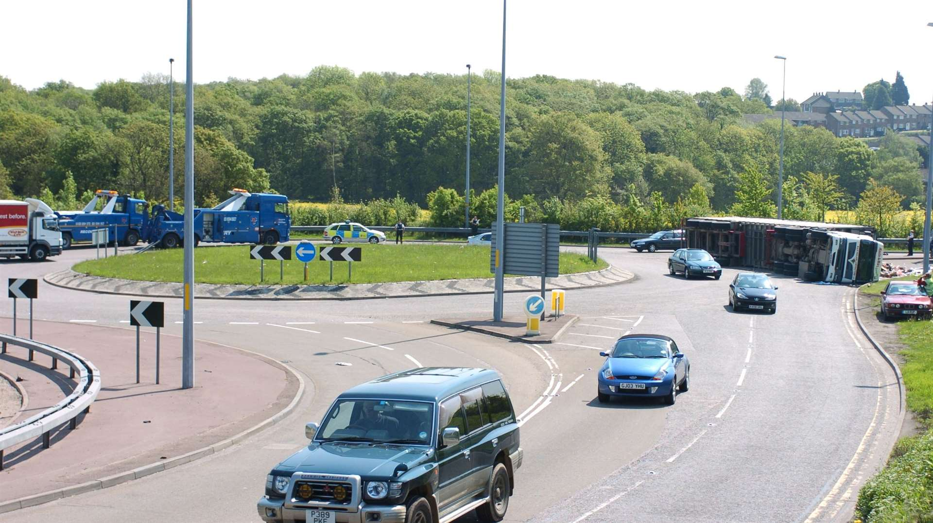 The Bean Interchange A2 Roundabout Slip has been the scene of various serious accidents