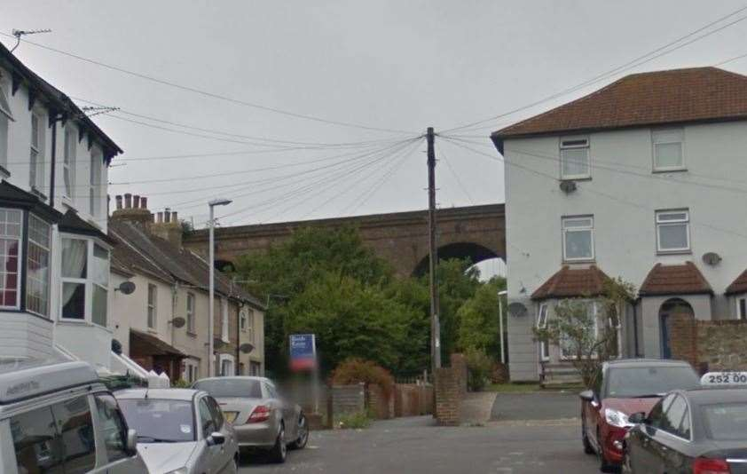 The attempted robbery took place in Mount Pleasant Road. Picture: Google Images (8509502)