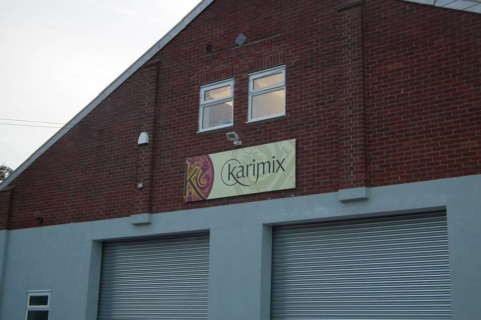 The new Karimix premises at Selling, near Faversham