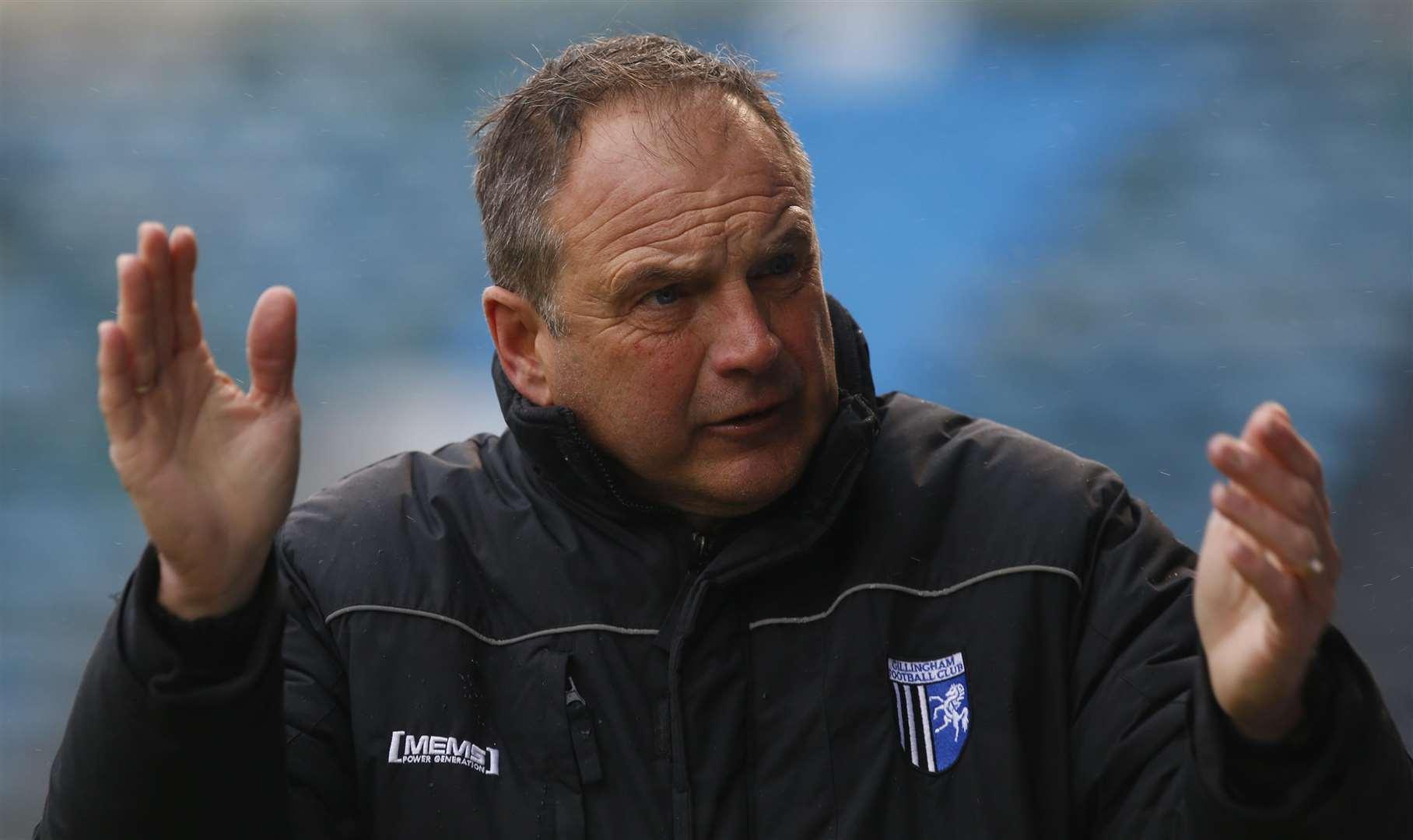 Boss Steve Lovell has confidence in Gillingham's pulling power