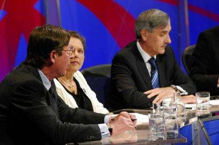 The Question Time panel in Gravesend