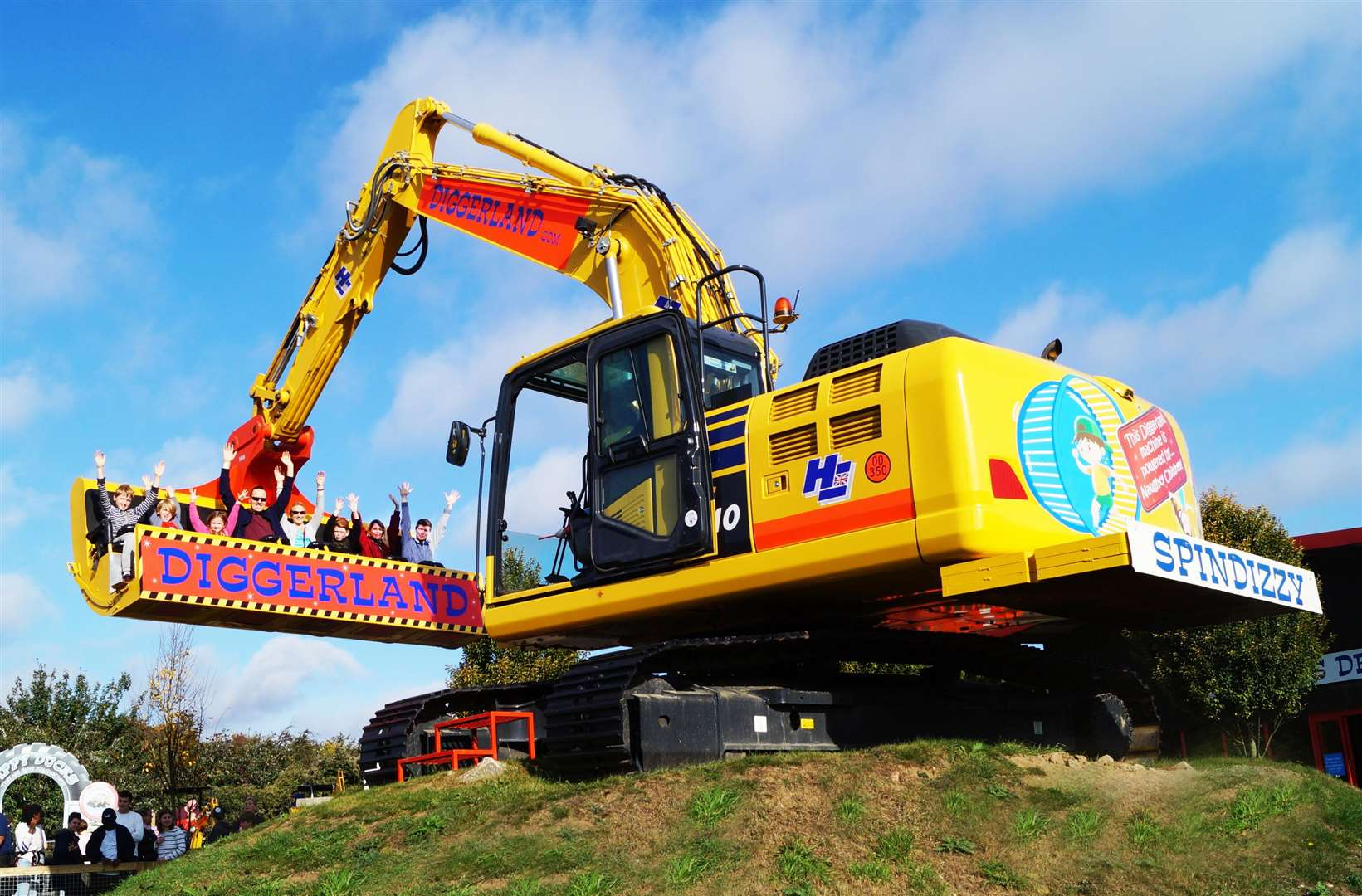 There's lots to do at Diggerland this summer