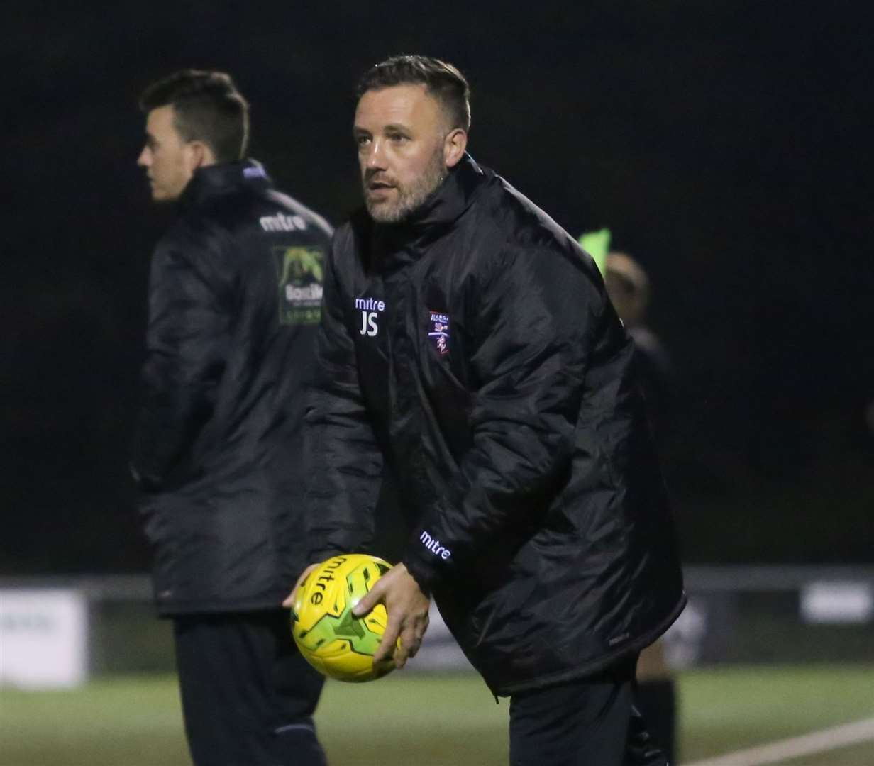 Jay Saunders has led Margate to Bostik Premier safety Picture: Don Walker