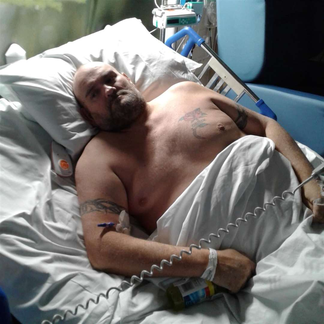 Paul Tucker died after contracting Covid-19 at Medway hospital