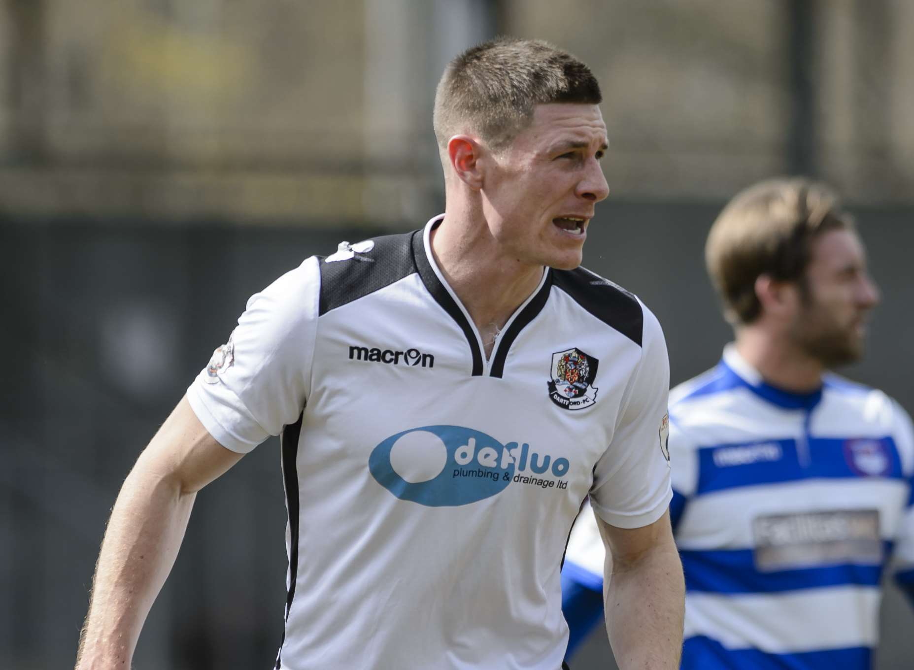 Paul Lorraine has been invited to train with Dartford in pre-season Picture: Andy Payton