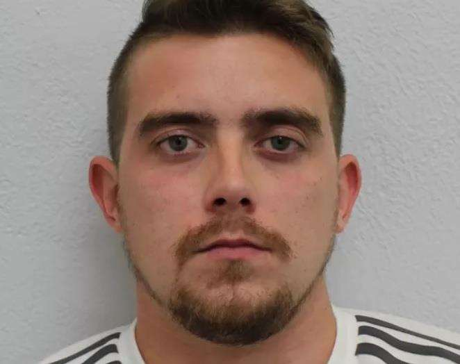 Jailed: Hacker Grant West operated out of a caravan on the Isle of Sheppey. Picture: Metropolitan Police (2223473)