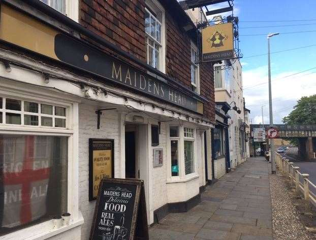 The Maiden's Head is one of the oldest buildings in Canterbury dating back to the year 1446