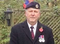 Secretary of the Royal British Legion Sandwich and District branch Simon Leith