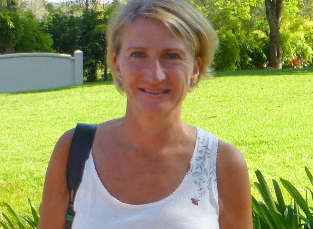 Gillian Metcalf, mother of two from Tenterden, in Brazil on the day before she died