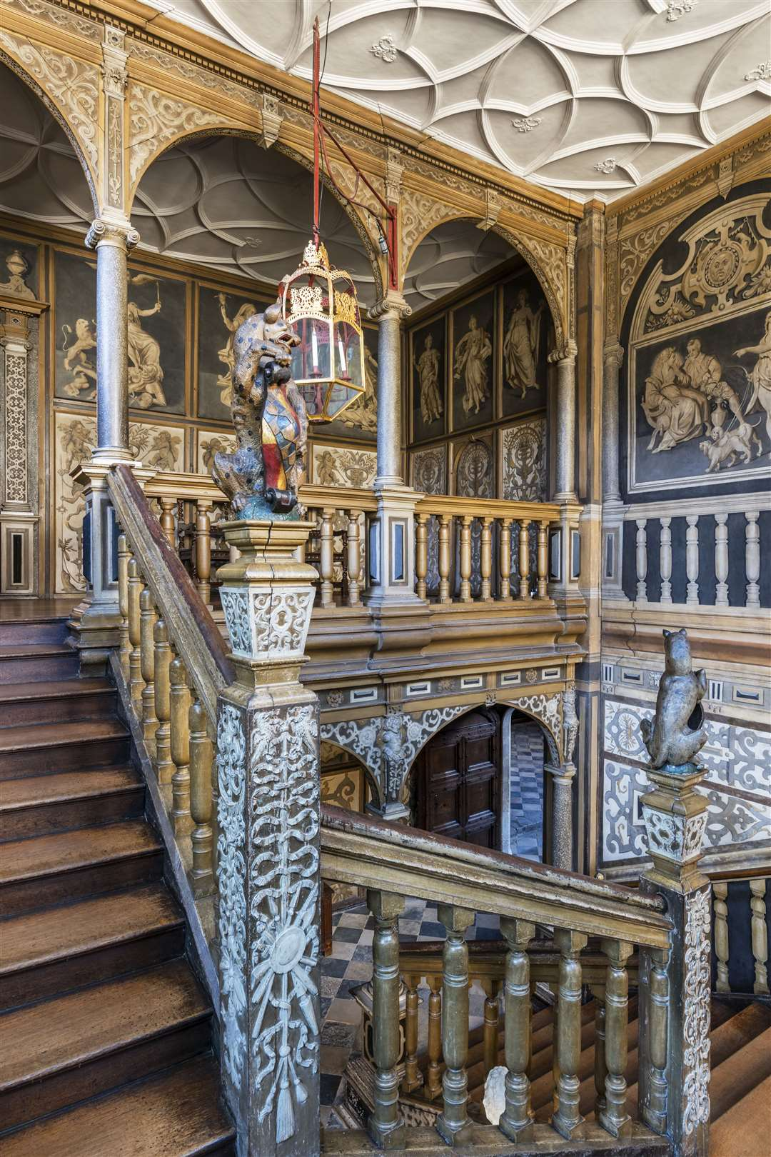 The Great Staircase at Knoe, Sevenoaks Picture: Andreas von Einsiedel/National Trust Images