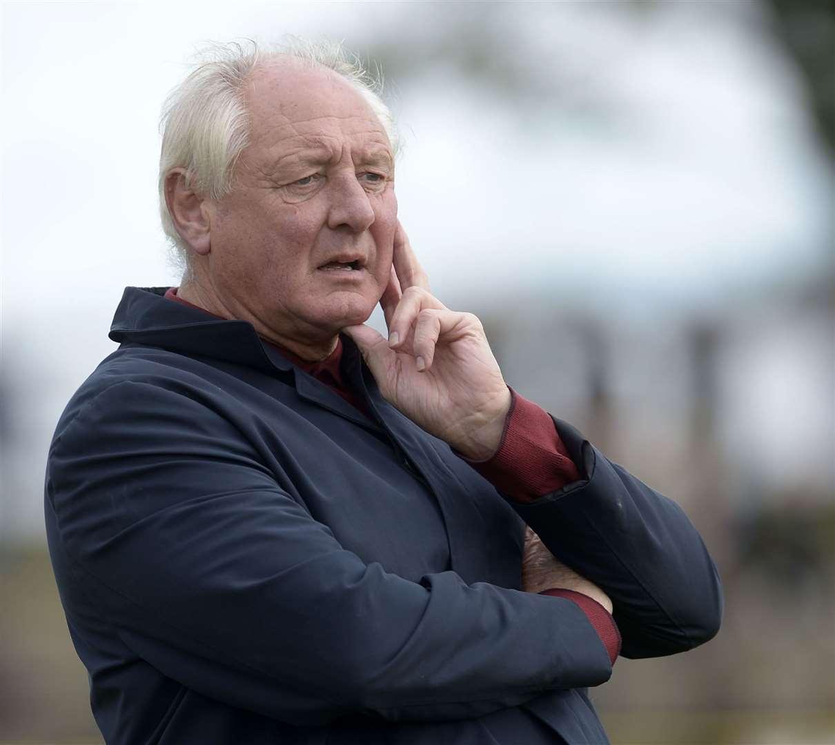 Folkestone boss Neil Cugley.  Photo: Barry Goodwin