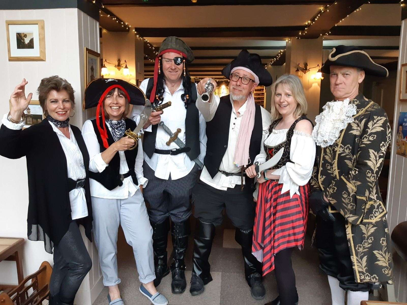 Members of Rotary Pirates Deal are launching an annual charity treasure hunt