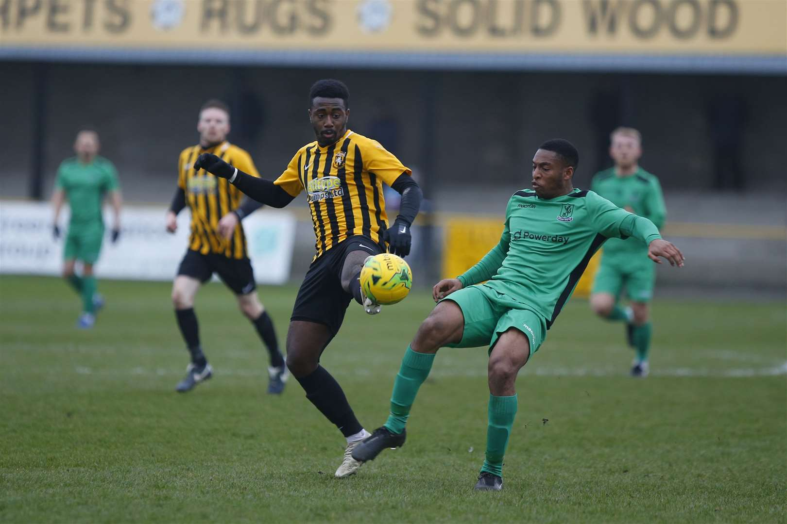 Folkestone Invicta are chasing promotion this season Picture: Andy Jones