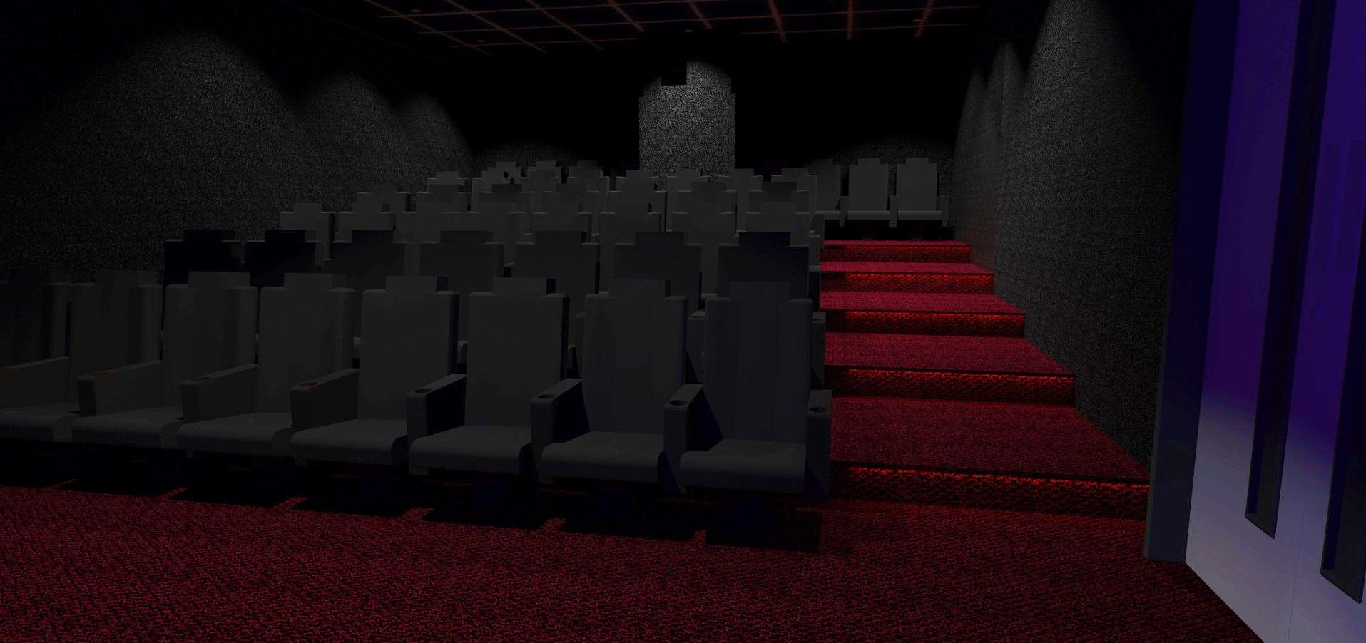 The cinema will have space for 46 seats. Picture: Marsh Academy (18488679)