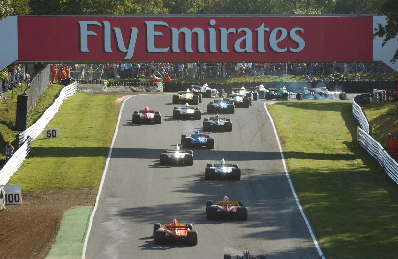 The 'World Cup of Motorsport' featured a full complement of nations in 2005. Picture: Barry Goodwin
