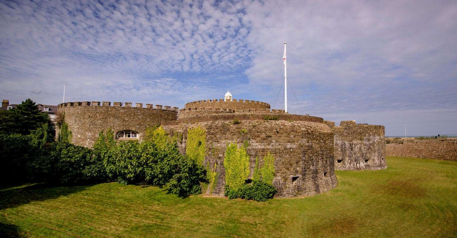 Deal Castle Picture: Jim Holden/ English Heritage