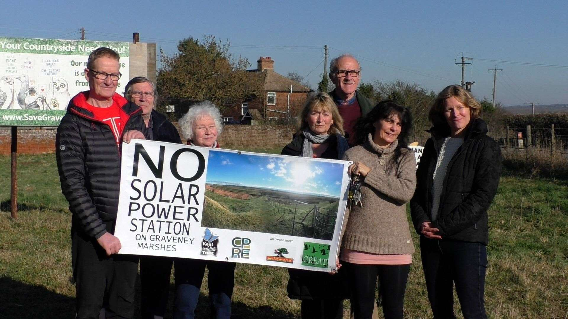 Graveney Marshes campaigners