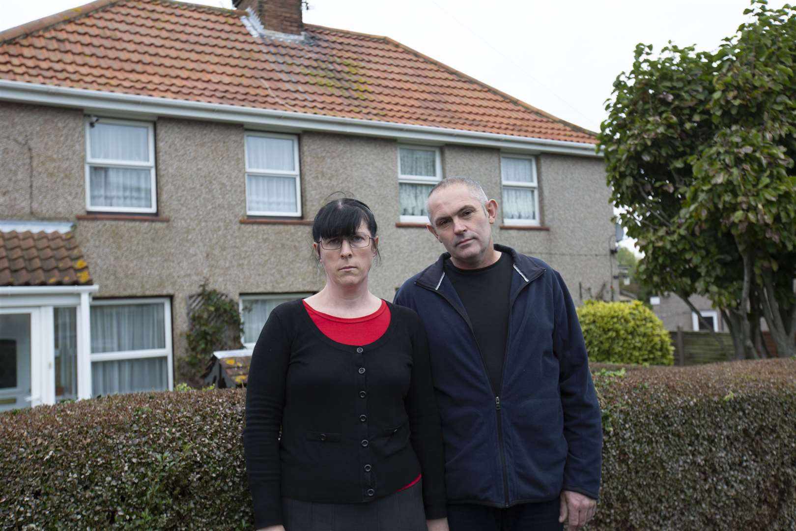Elaine and Mark Burrows will share their story on TV tonight Picture: 5STAR