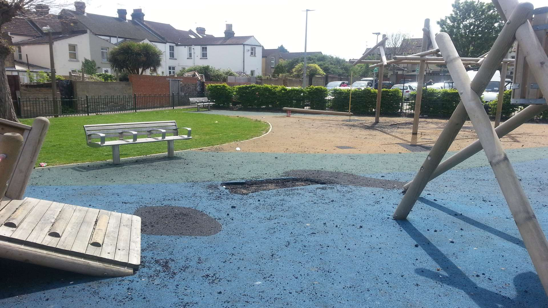 One resident said children are no longer being taken to the gardens because of the anti social behaviour