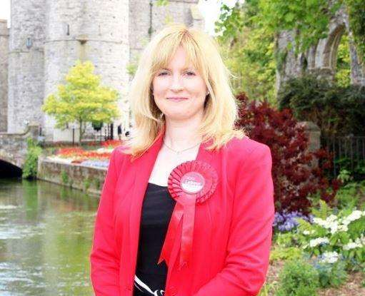 Canterbury MP Rosie Duffield