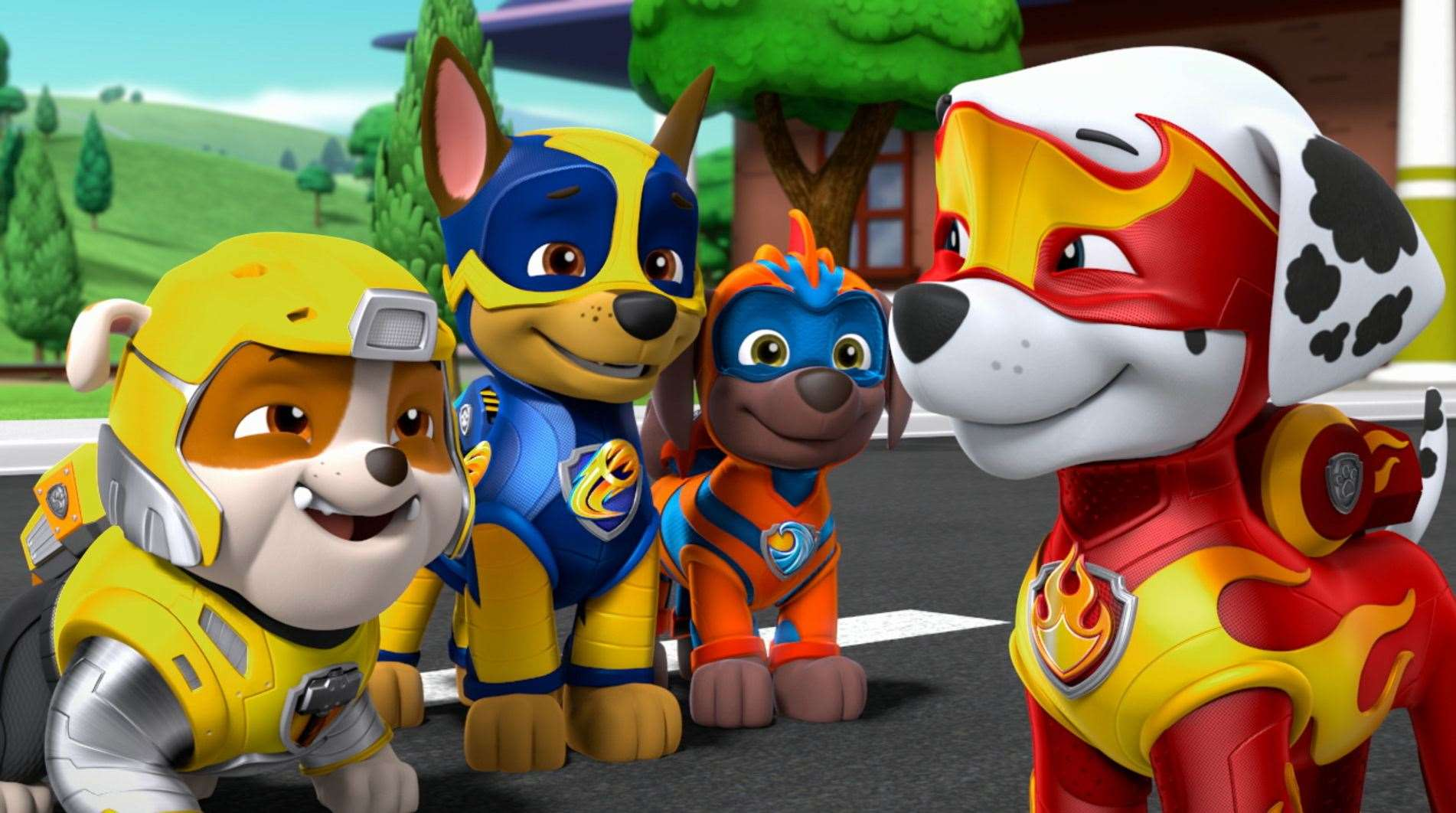 Paw Patrol: Mighty Pups Picture: Paramount Pictures