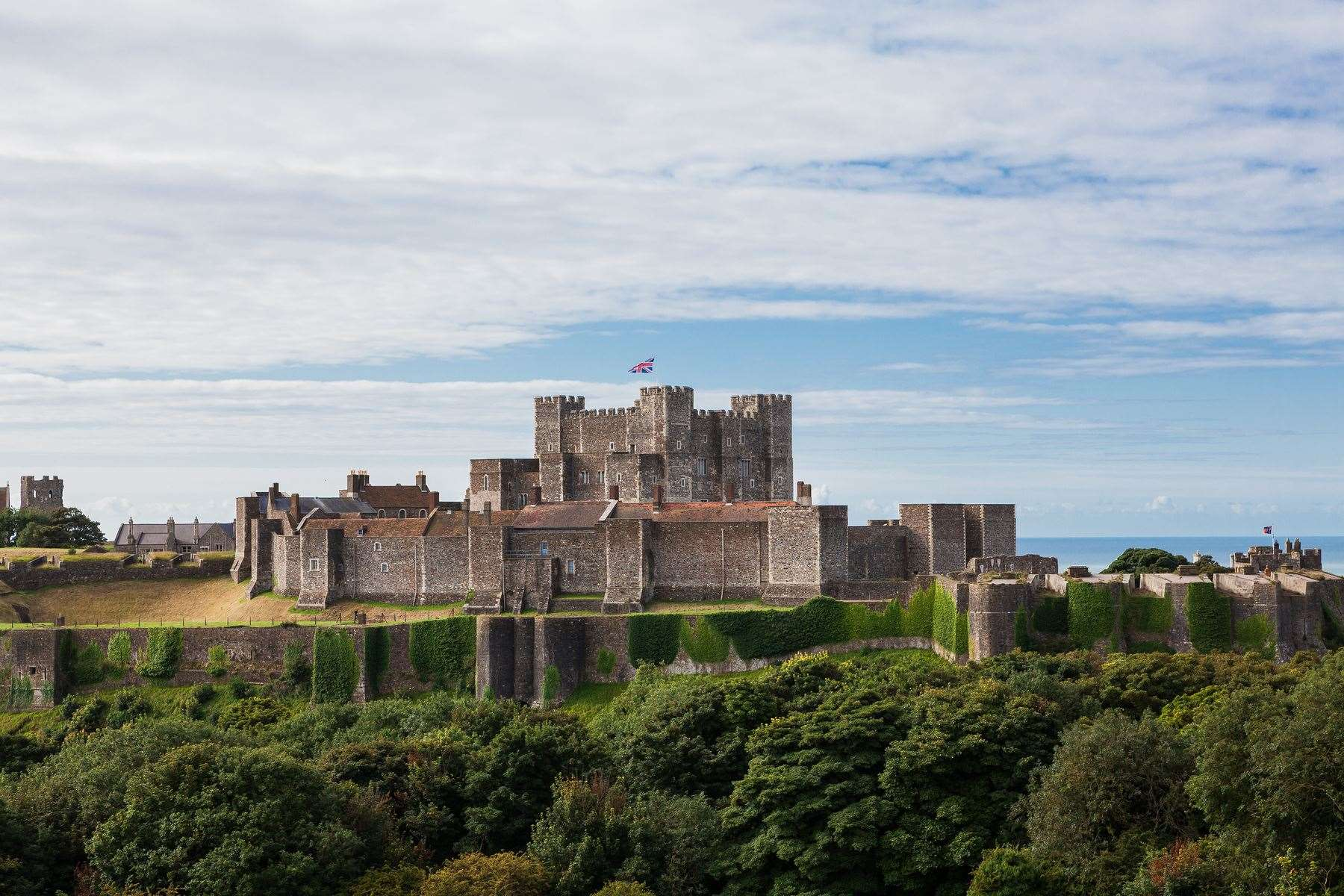 Dover Castle. Picture English Heritage
