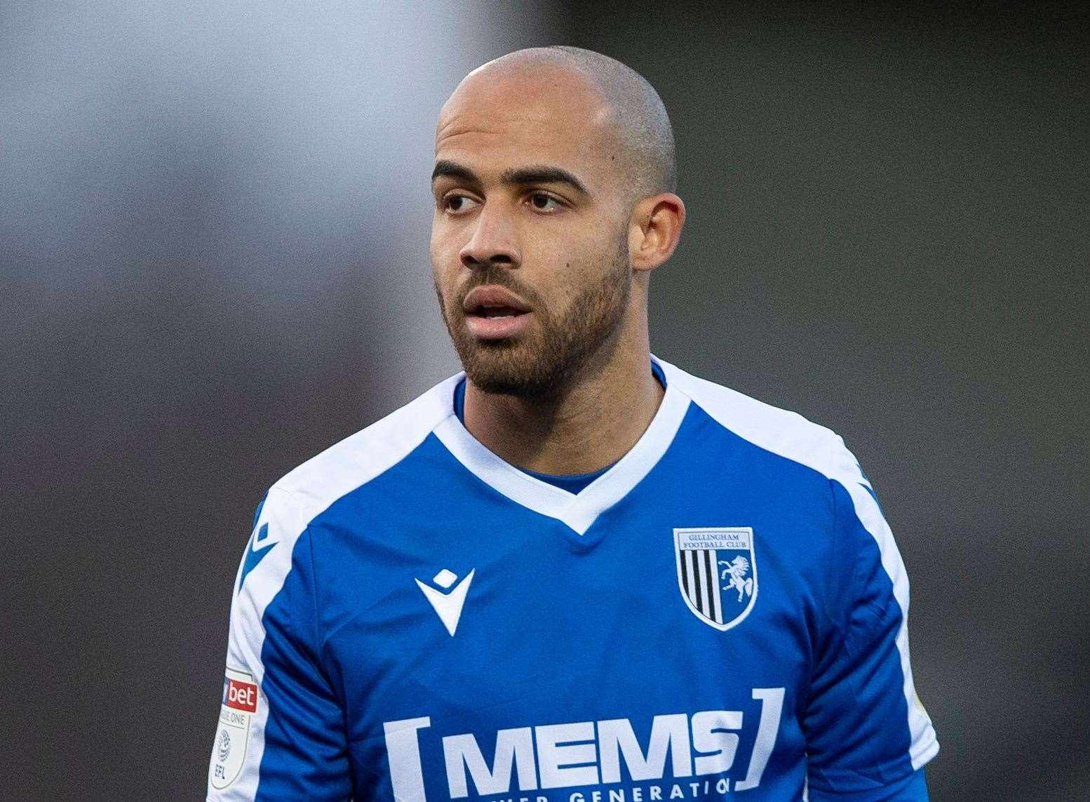 Gillingham forward Jordan Graham scored his fourth goal of the season on Saturday
