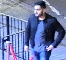 One of the men police want to speak to. Picture: Kent Police