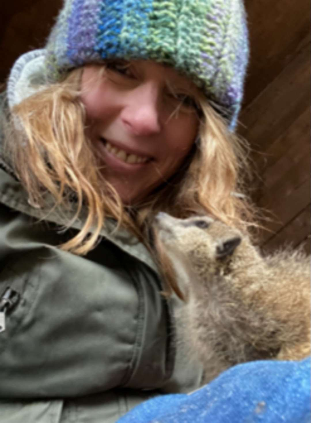 Laura is a volunteer for Second Chance Animal Rescue in Crockenhill. Picture: One Voice For Animals UK