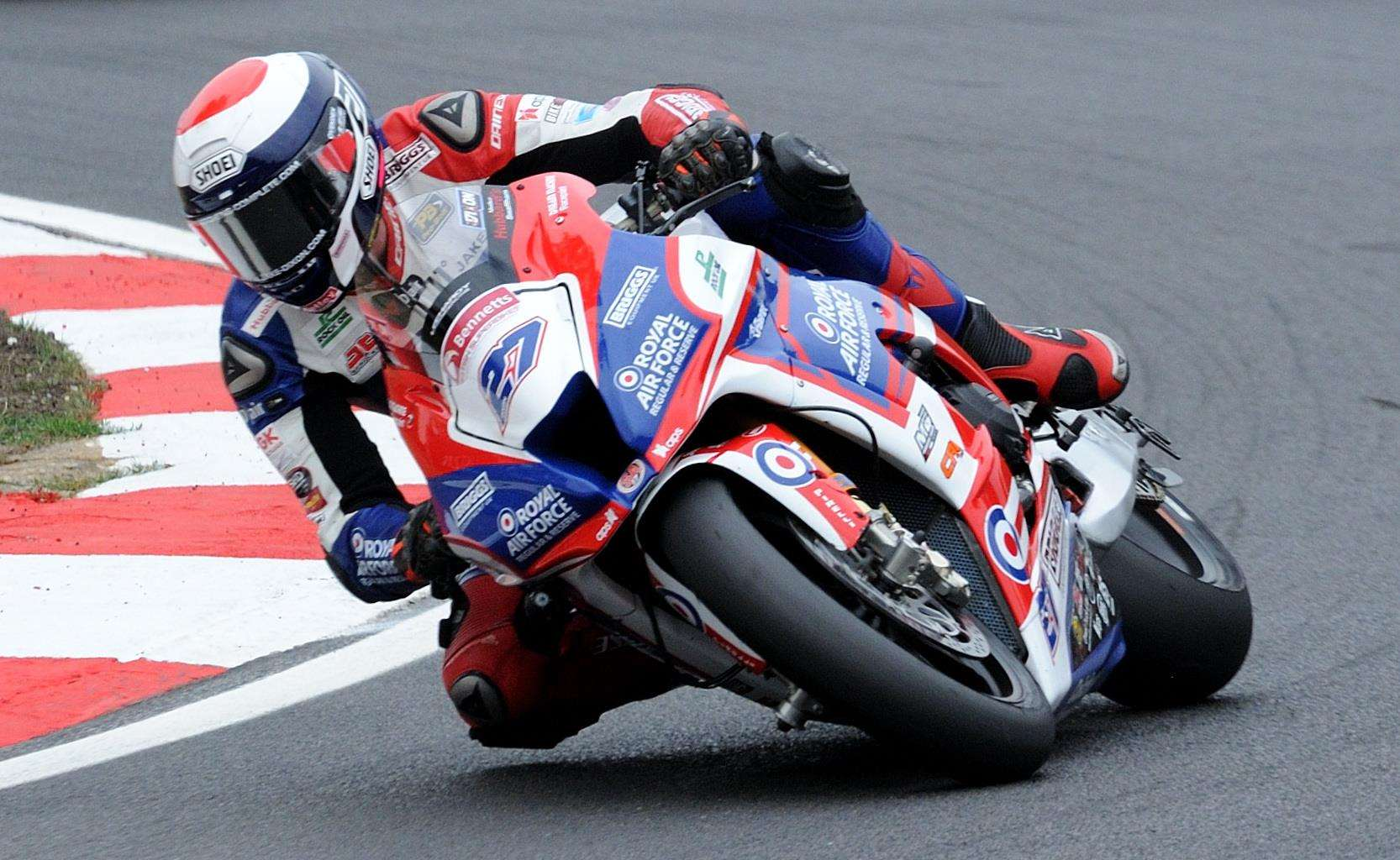 Jake Dixon on track at Brands Hatch on Sunday Picture: Simon Hildrew