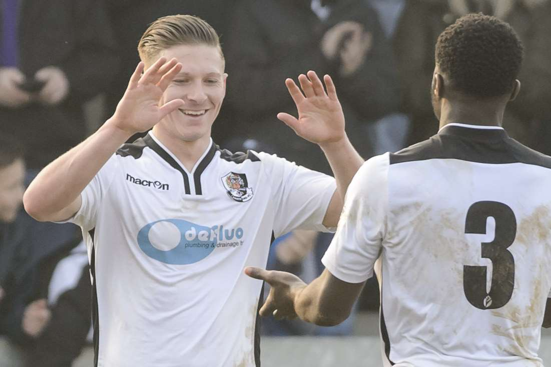 Andy Pugh is in his third season at Dartford Picture: Andy Payton