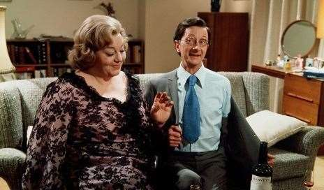 Hattie Jacques and Charles Hawtrey - stars of the Carry On films Picture courtesy of the Cinema Television and Benevolent Fund
