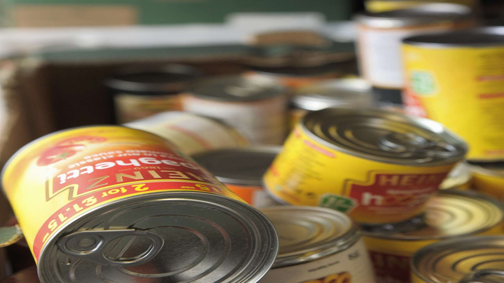 Demand is so high Medway Foodbank is running out of supplies. Picture: Andy Payton