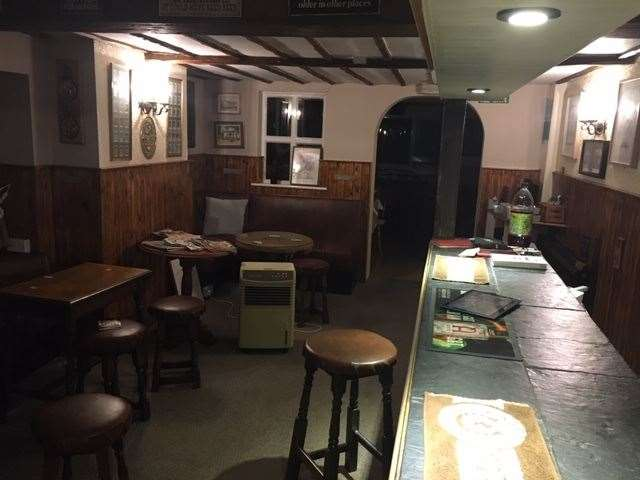 Inside the pub has had a makeover and a full paint job, but it has retained all the traditional feel of a local boozer