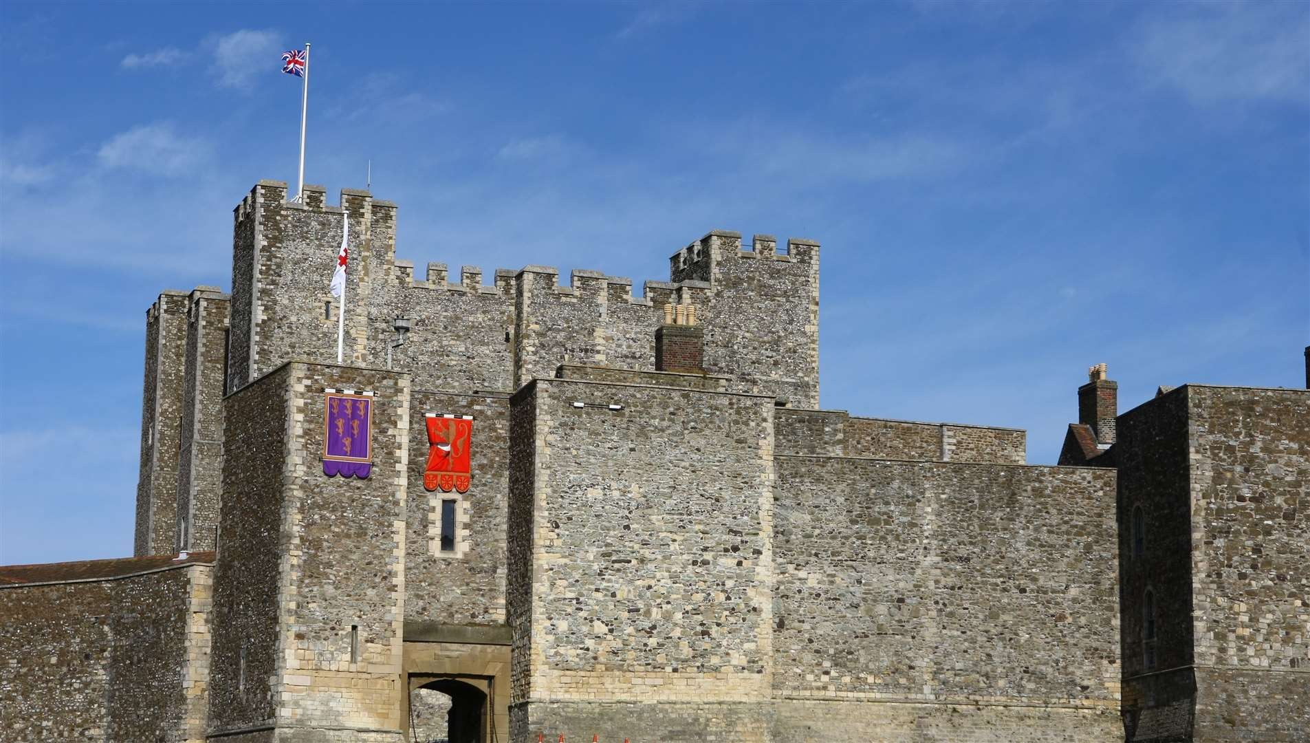 Historic Dover Castle will reopen in July