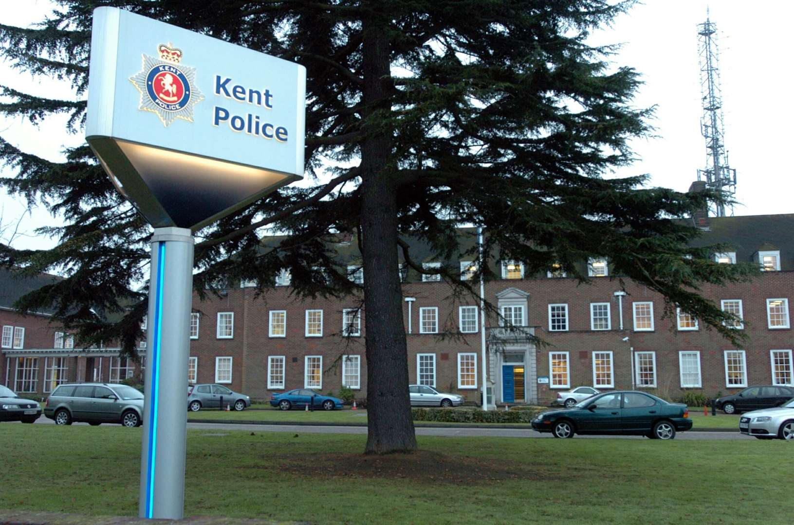 The misconduct hearing took place at Kent Police HQ