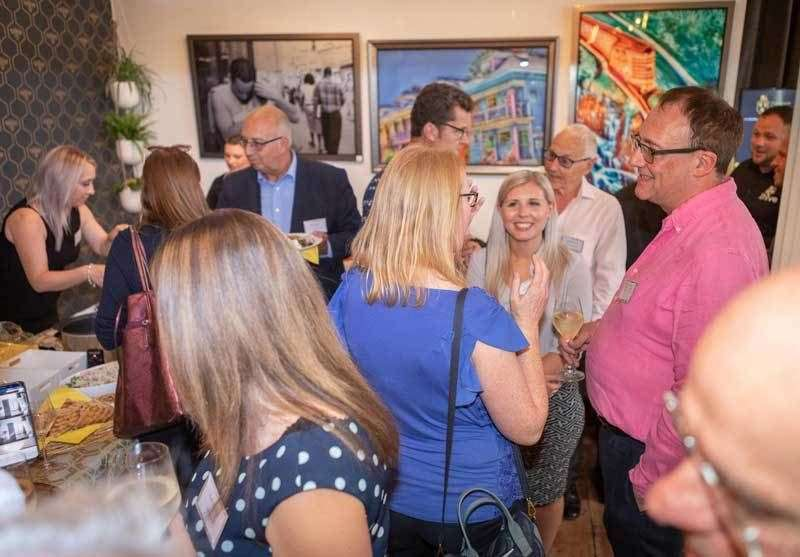 A networking event at The Hive in Cranbrook