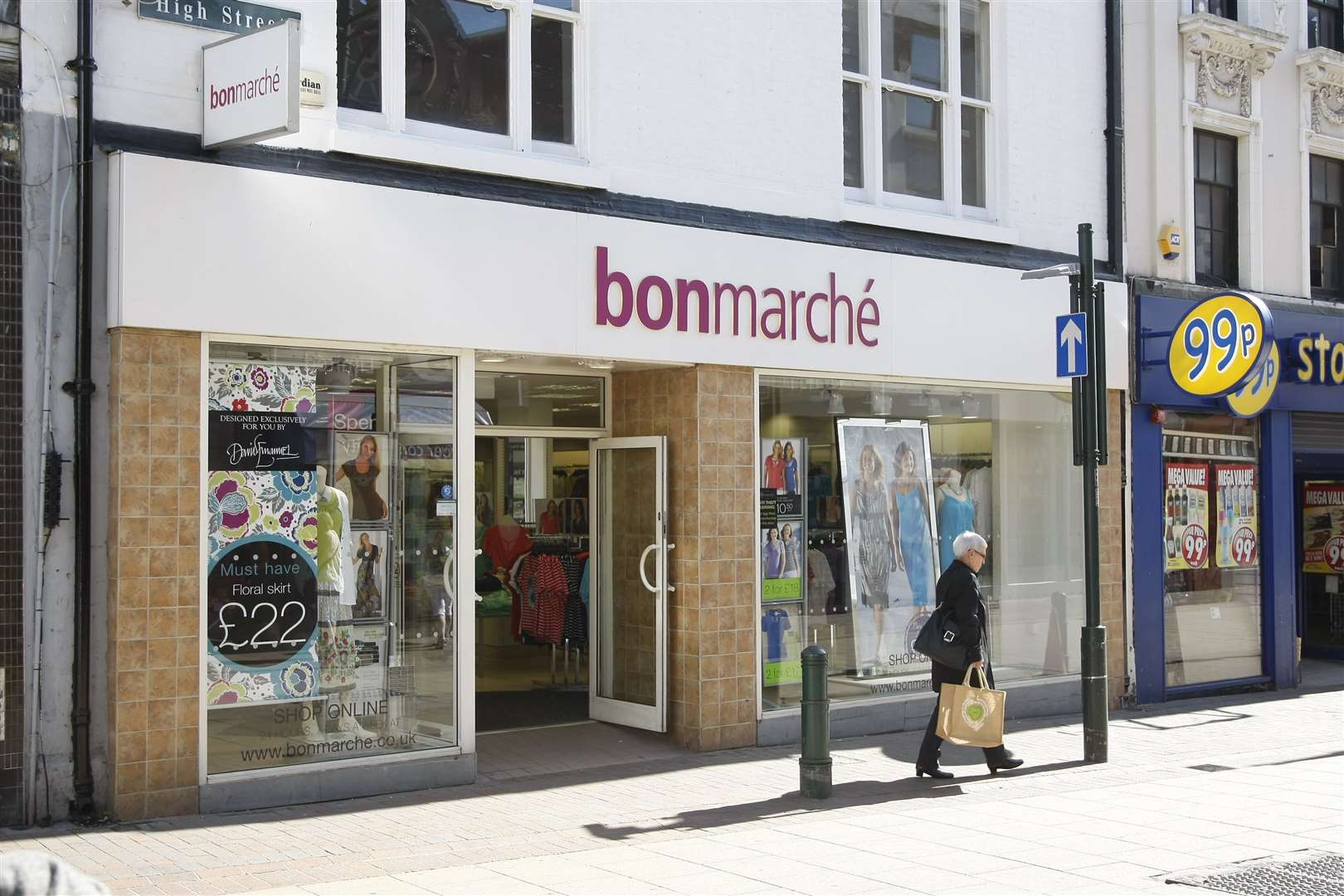 The Bonmarche store in Chatham High Street