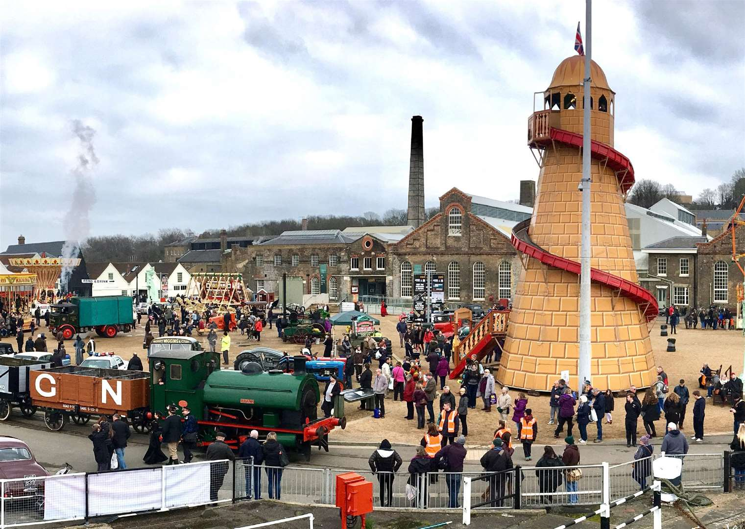 The Festival of Steam and Transport will be back at the dockyard this Easter.