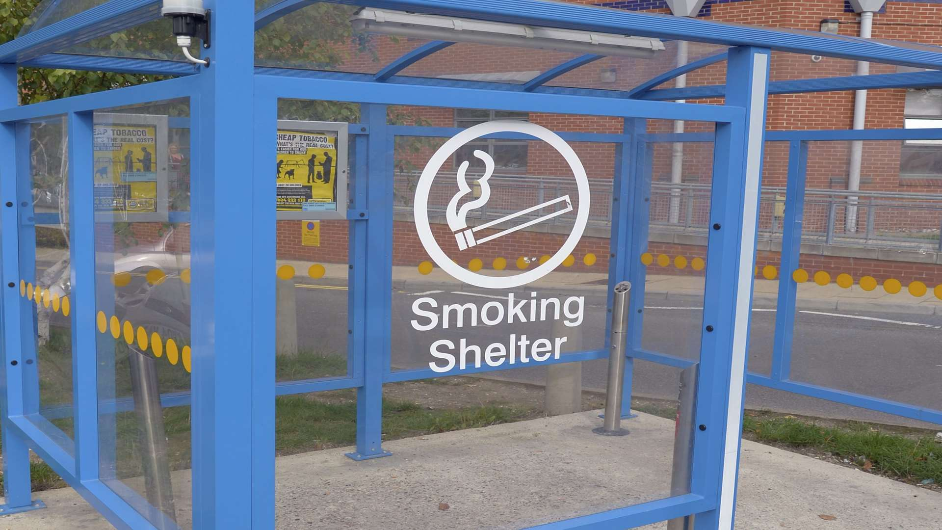 Medway Maritime Hospital site is going smokefree in October